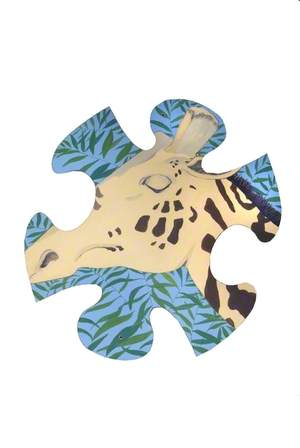 Jungle Jigsaw: Giraffe Head