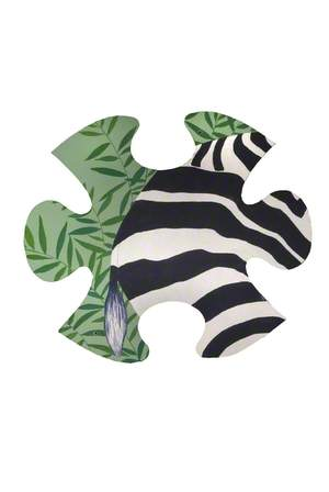 Jungle Jigsaw: Zebra Tail