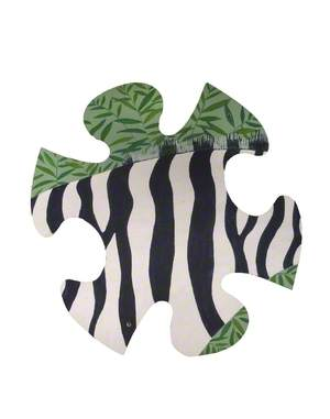 Jungle Jigsaw: Zebra Neck