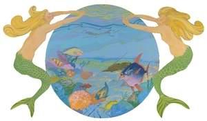 Mermaid Roundel