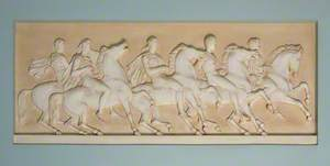 Five Men on Horseback*