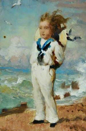 Boy in Sailor's Uniform