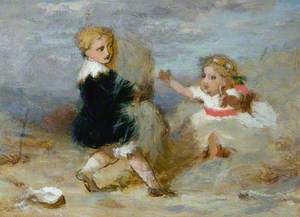 Baby and Child Playing
