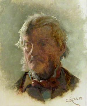 An Old Man's Head