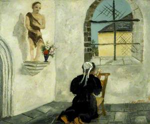 Breton Woman at Prayer