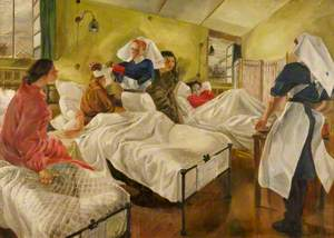 Naval Base: Women's Royal Naval Service Sick Bay