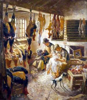 Christmas Preparations at Beaulieu