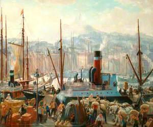 Stevedores, Marseilles