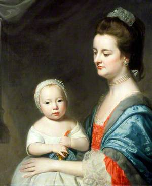 Mrs Marton and Her Son Oliver