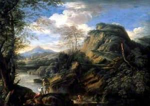 A Mountain Landscape