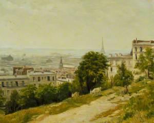Vue de la Butte, Montmartre