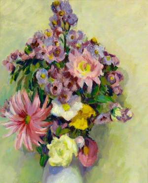 Still Life, Flowers in a Vase