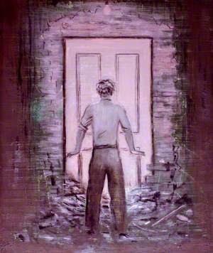 Orpheus at the Door of the Underworld