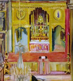 Interior of the Armenian Church