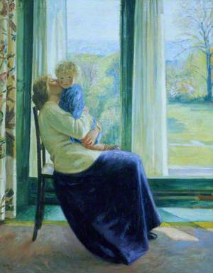 Spring, the Morning Room