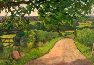Lane to Brockton, Staffordshire