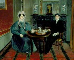 Couple Having Tea