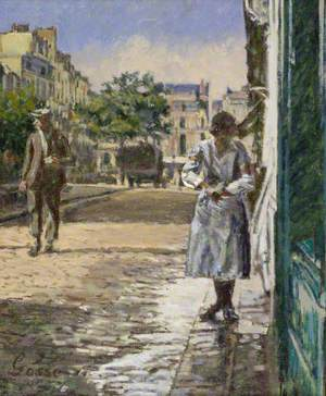 Street Scene, Dieppe