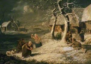 Peasants Snowballing