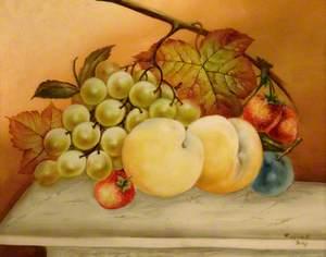 Still Life: White Grapes