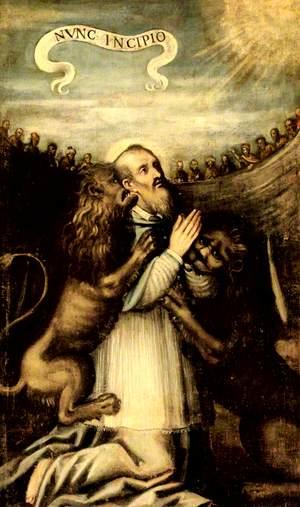 The Martyrdom of Saint Ignatius of Antioch