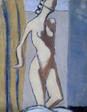 Ghislaine and Grey Nude