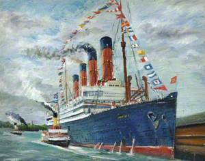 'Aquitania', Cunard