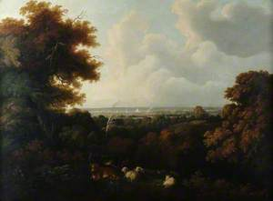 Southampton from Peartree Green