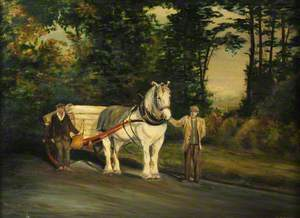 'Silver', an Aged Horse of the City of Southampton