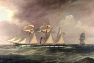 A Barque, 'Phoebe'