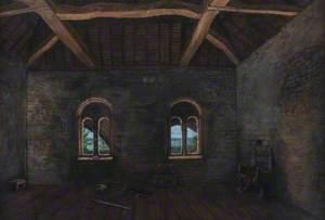 Interior of Norman Merchant House, Blue Anchor Lane, Southampton, 12th Century