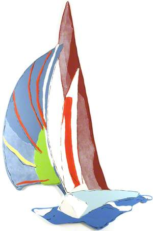 Seascapes: Sailing Boat