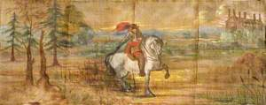The Ghost of Aston Bury, a Mounted Cavalier