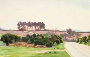 Landscape with a Clump of Pines
