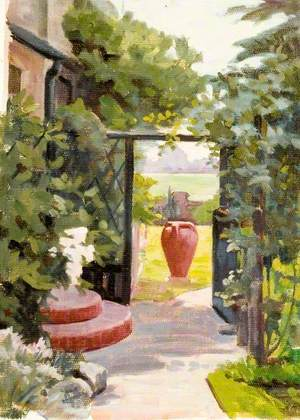 Avalon, View through the Side Gate, Bushey