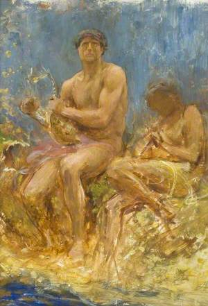 Orpheus and Pan