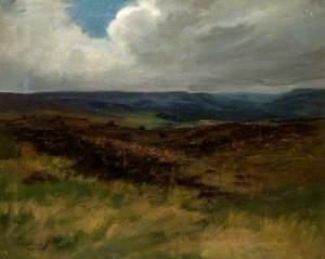 Moorland Scene, September 1910