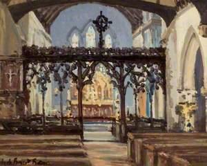 Interior of St James' Church, Bushey