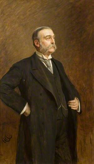 Sir George Carlyon Hughes Armstrong (1836–1907), 1st Bt