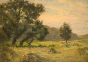 The Hayfield, Sunset, Oxhey