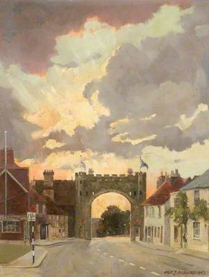 Bushey Coronation Arch, 1953