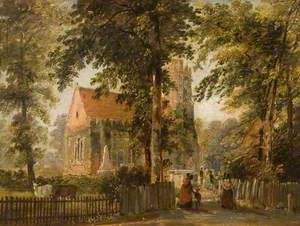 Old St John's Church, Stanmore