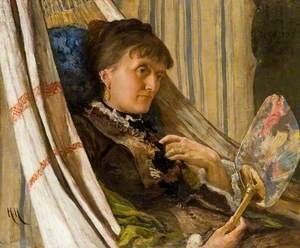 Anna Herkomer, née Weise (d.1883)