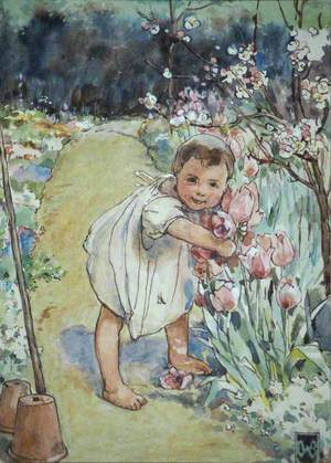 'Pick the pretty flowers, love'