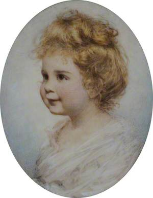 Philippa as a Baby