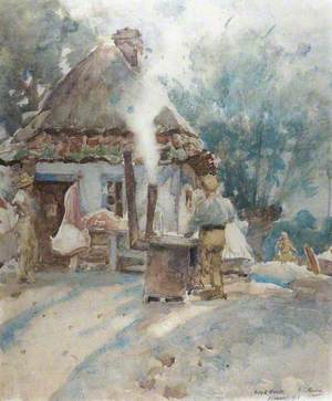 A Cookhouse, Flanders