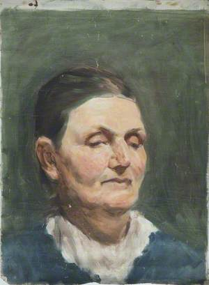 Head of a Middle-Aged Woman