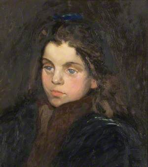 Girl with a Blue Bow
