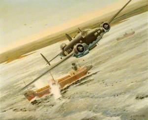 Lockheed Hudson MkIII, 353 Squadron RAF V9176 off Cheduba Island, Burma, 9 November 1942