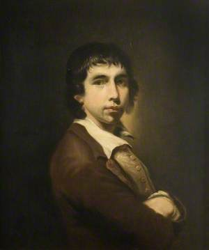 Portrait of a Man in a Brown Jacket